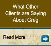 What Other Clients are Saying About Greg