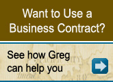Want to Use a Business Contract?