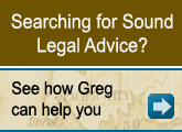 Searching for Sound Legal Advice?