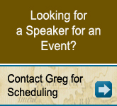 Looking for a Speaker for an Event?